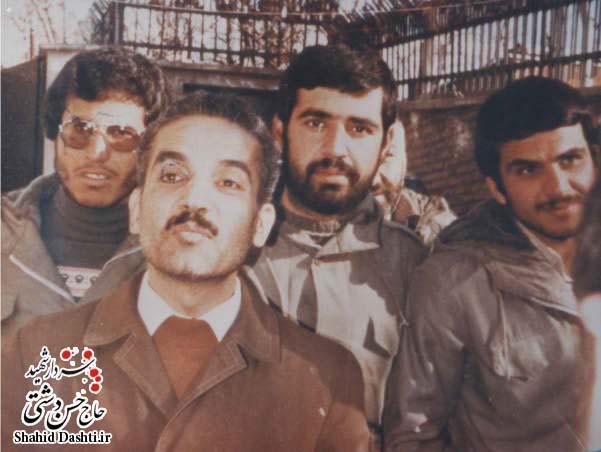 ۴ عکس از سردار شهید حاج حسن دشتی سری ۱
