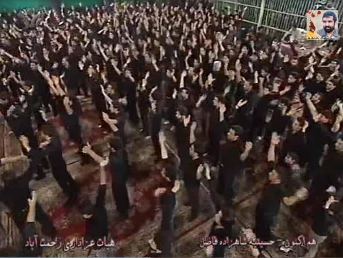 دانلود هیئت سینه زنی رحمت اباد یزد سال ۱۳۹۲ حسینیه شازده فاضل