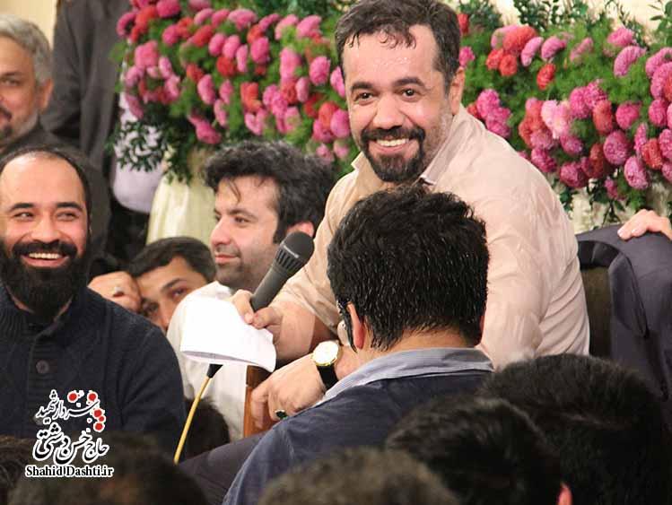 مولودی بسیار زیبای محمود کریمی با نام ای شور تو در دلها به مناسبت ولادت حضرت محمد