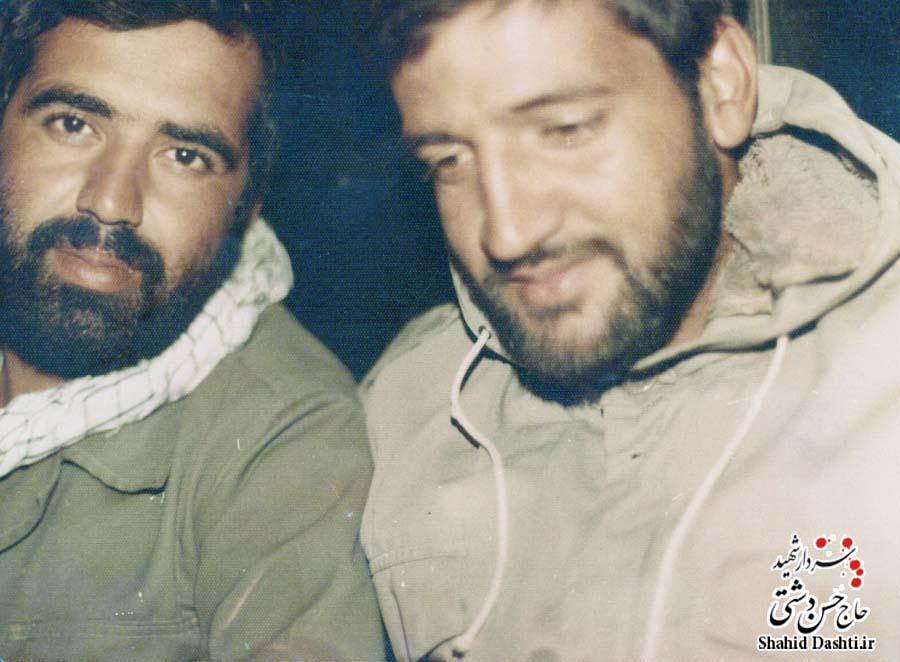 ۲ عکس از سردار حاج حسن دشتی سری ۶