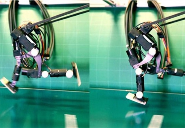 رباتی که مانند انسان میدود+تصویر