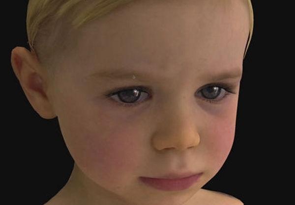 شبیهترین «ربات کودک» به انسان+تصاویر