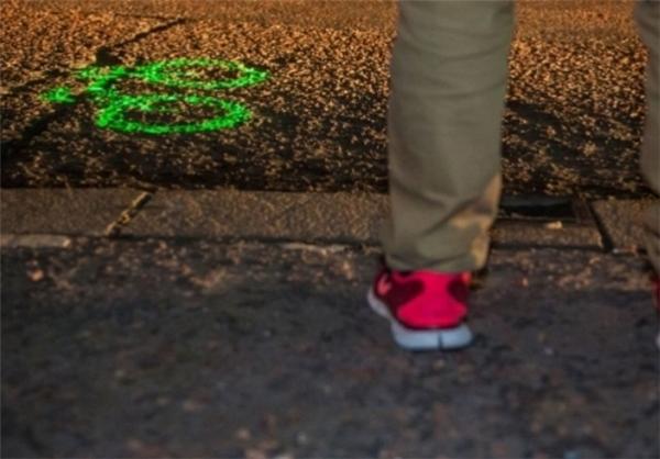 لیزری برای دوچرخهسواری شبانه+تصاویر