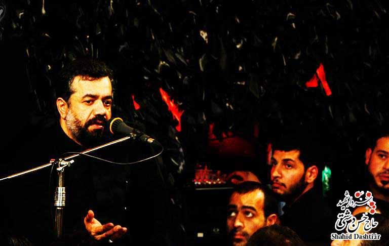 نوحه محمود کریمی به مناسبت ایام فاطمیه با نام ابکنی یا ابالحسن