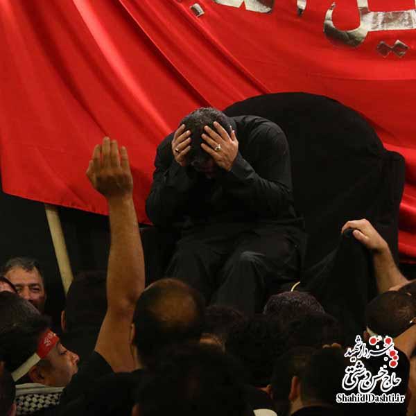 مناجات بسیار زیبای حاج محمود کریمی در شب هشتم محرم ۹۴