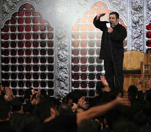 حاج حسن خلج مراسم شب ۴ محرم ۹۳