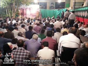 سالگرد سردار حاج حسن دشتی سال 93
