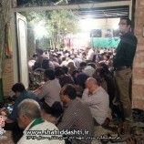 تصاویری از مراسم سالگرد سردار شهید حاج حسن دشتی سال ۹۳