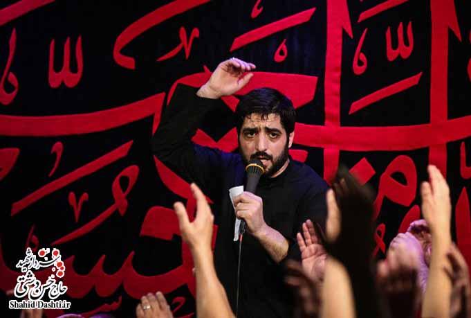 دانلود مراسم شب عاشورا محرم ۹۴ با مداحی حاج سید مجید بنی فاطمه