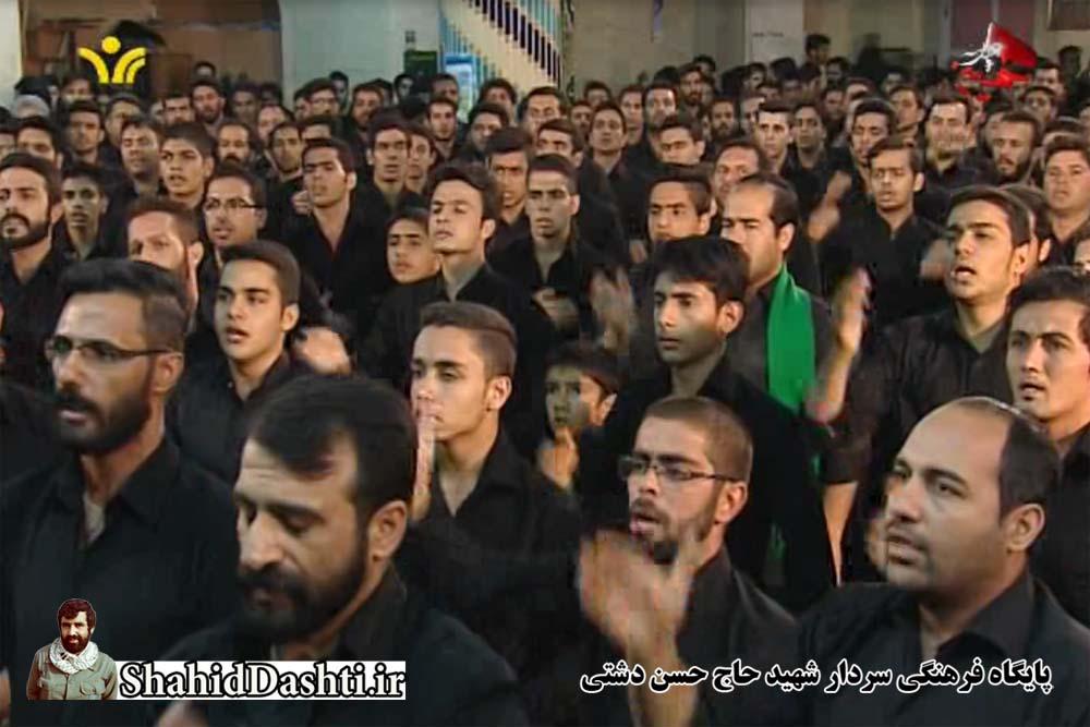 دانلود هیئت سینه زنی رحمت آباد یزد سال ۱۳۹۴ حسینه دوازده امام