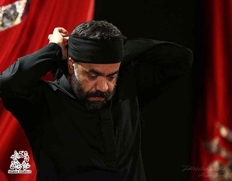 دانلود تصویری نوحه بسیار زیبای محمود کریمی با نام دیونه منم عاشقی که دل خونه منم