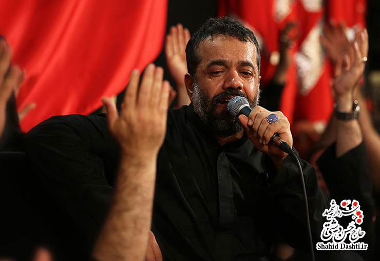 دانلود تصویری مراسم شب تاسوعای محرم ۹۴ کریمی با نام مشکت صد پاره شده