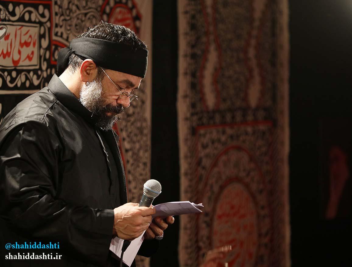 دانلود مراسم شب ششم محرم ۹۵ با حاج محمود کریمی با نام توی هفت آسمون یا حسین ولی