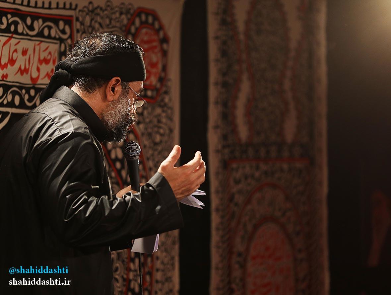 دانلود مراسم شب پنجم محرم ۹۵ با مداحی حاج محمود کریمی با نام امانتیمو برگردون
