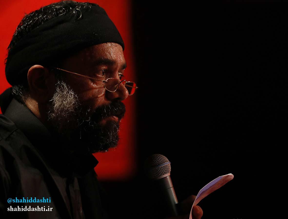 دانلود مراسم شب ششم محرم ۹۵ با حاج محمود کریمی با نام ای حسن جانم یتیمت مانده روی دستانم