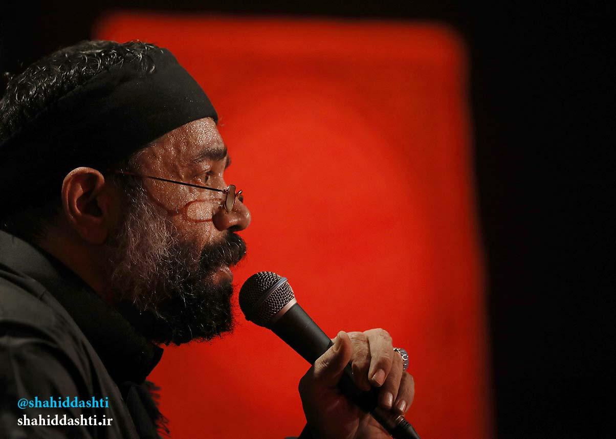 دانلود مراسم شب هفتم محرم ۹۵ با مداحی حاج محمود کریمی با نام شراره بی آبی