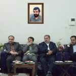 بازدید از خانواده شهید دشتی