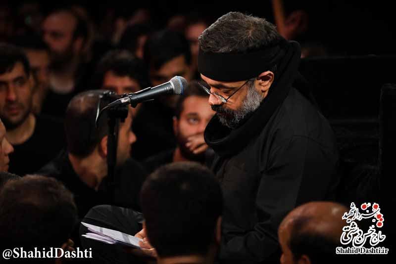 نوحه شب دوم محرم ۹۶ حاج محمود کریمی با نام این صحرا به چشم آشناست